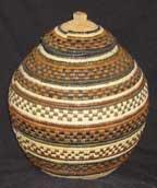 African Zulu Beer Basket (1204u6)